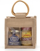 Colman's 2 Jar Jute Bag