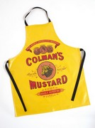 Exclusive Mustard Label PVC Apron