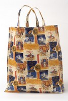 Colman's PVC Lined Shopper - Advertising Print
