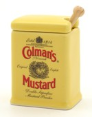 """Colman's Mustard"" Exclusive Mustard Pot"