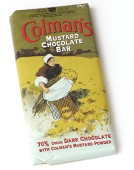 Colman's Exclusive Mustard Chocolate Bar